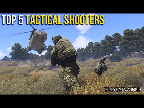 Top 5 - Tactical First Person Shooter Games (FPS)