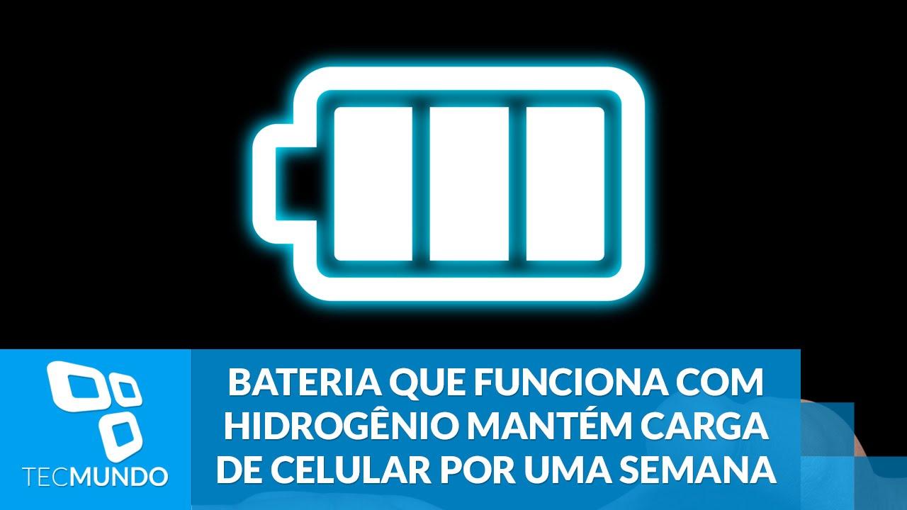 9ac7931353d Bateria que funciona com hidrogênio mantém carga de celular por uma semana.  TecMundo