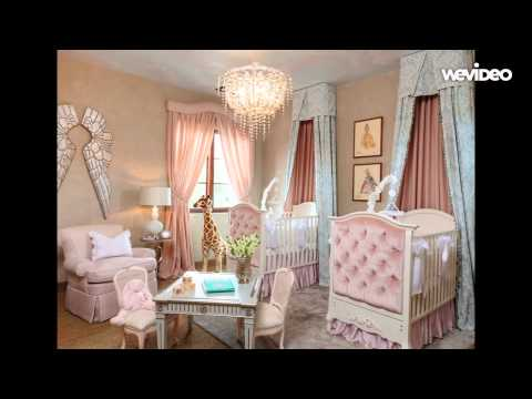 Nursery room design ideas with baby bedding