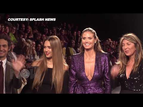 Heidi Klum & Jessica Alba Introduce Project Runway Fashion Show At NYFW 2017 | Zac Posen,Nina Garcia