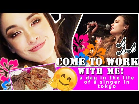 COME TO WORK WITH ME - A Day In the Life of a Singer in Tokyo/ Shibuya/  Vlog #2//Keren Louis
