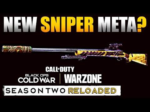 New Sniper Meta in Warzone? Rear Grips Actually Help ADS Speed Now | Tundra/Pelington Class Setup - JGOD