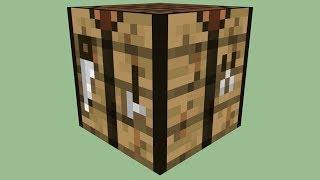 Como Fazer Uma CraftingTable no Minecraft