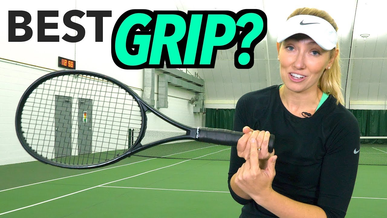 TENNIS GRIPS MADE EASY - Tennis Lesson