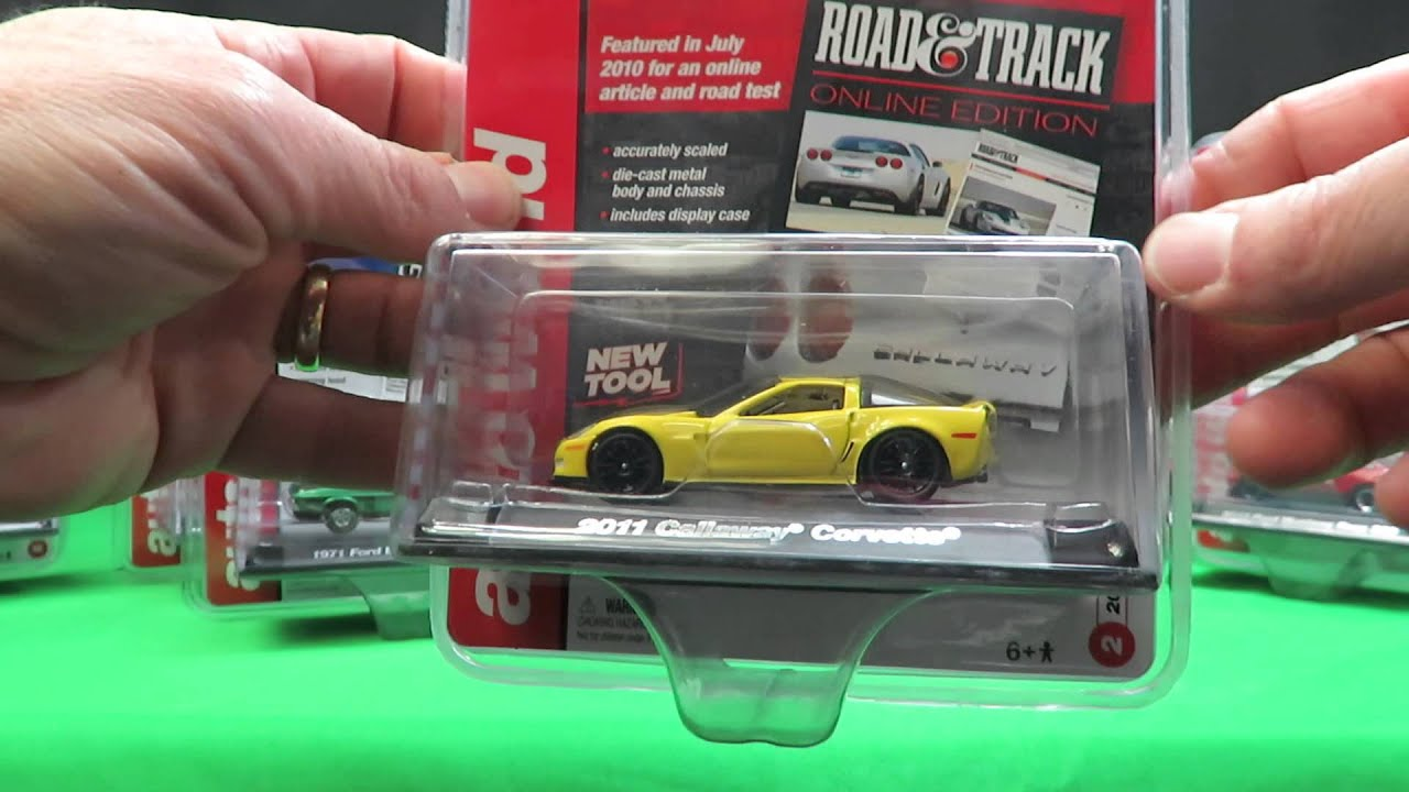 Autoworld Scale 1 64 Diecast Cars Magazine Series Set Of 6 Youtube