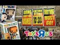 Crazy Busy at A Liquidating Toys R Us   Pops On Sale