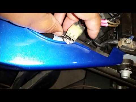 2008 Suzuki Hayabusa tip over switch - YouTube