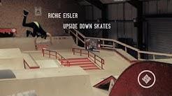 Richie Eisler Upside Down Skates / USD Aeon 72 skates