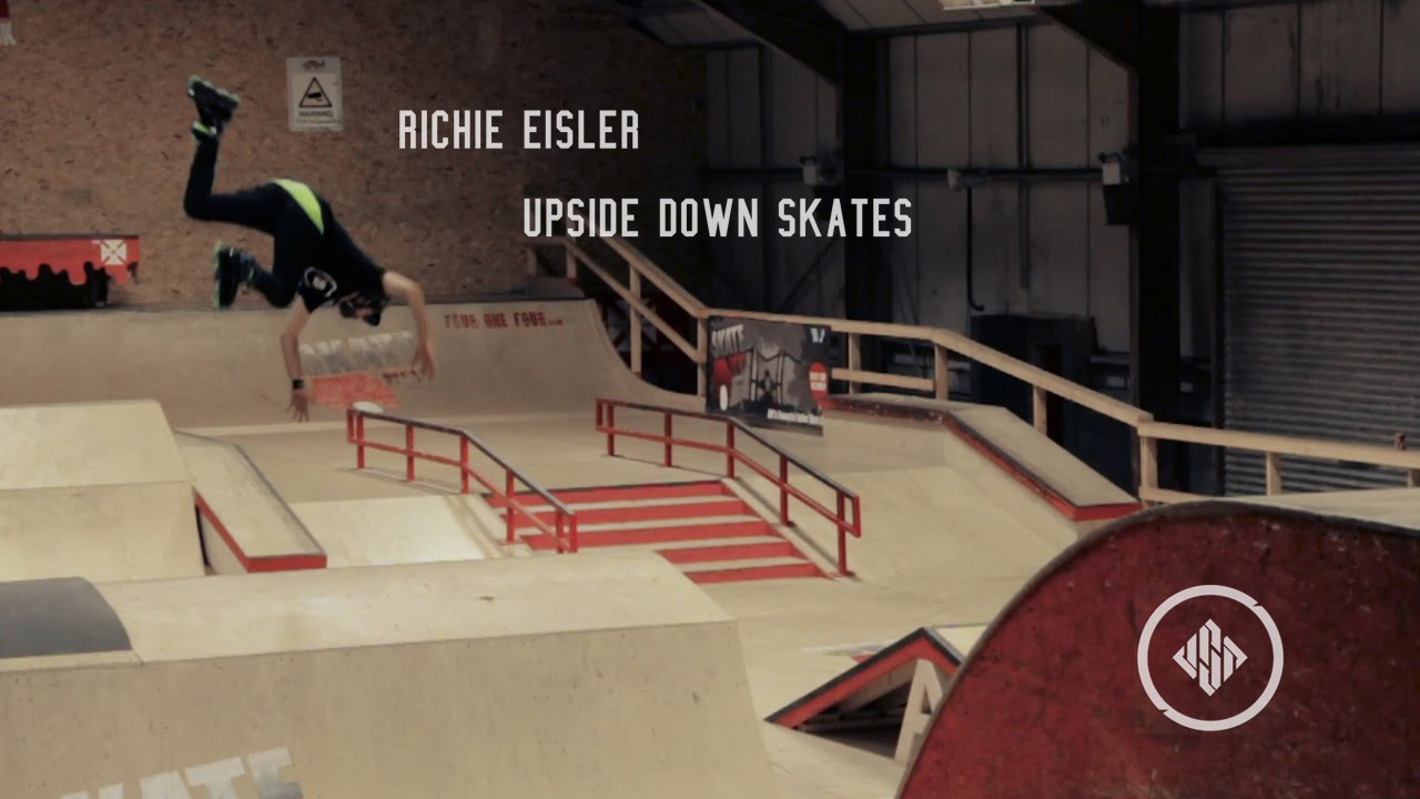 Richie Eisler - Upside Down Skates Watch Richie go FLIPMODE on his new skates! USD Aeon Richie Eisler 72s are available now, worldwide... Camera: Jake Eley, ...