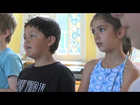 L'atelier de chant médiéval à l'école de Vézelay | La Cité de la Voix