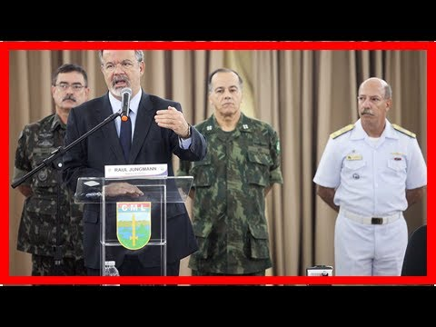 Brazil's defense minister discards military intervention in country