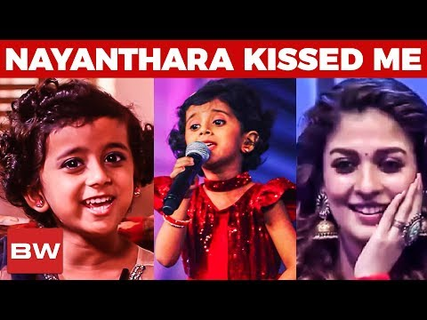 """Nayanthara Kissed Me!""- Sun Singer Title Winner Ananya's Cute Musical Interview 