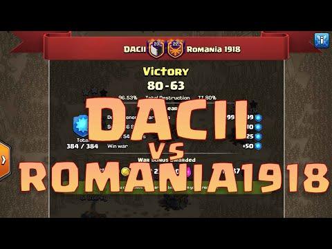 Dacii Vs Romania1918   30 Vs. 30 WAR   20 Triples   QW+Miners & Hogs   Edrags   YETY + Queen Walk