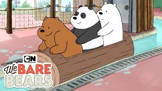 We Bare Bears | Log Ride (Hindi) | Minisode | Cartoon Network