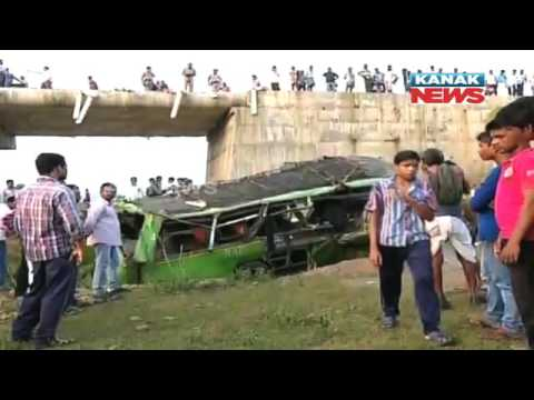 Angul RTO Gives Report On Athmallik Bus Accident