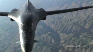 B-1B upgrades to PHASE II to provide Close-Air Support