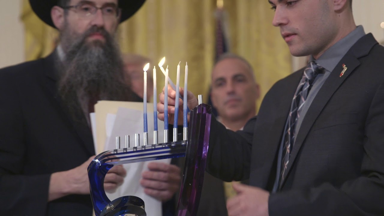 The First Family hosts a 2018 Hanukkah Reception