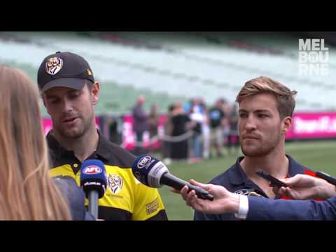 Media conference: Jack Viney and Trent Cotchin
