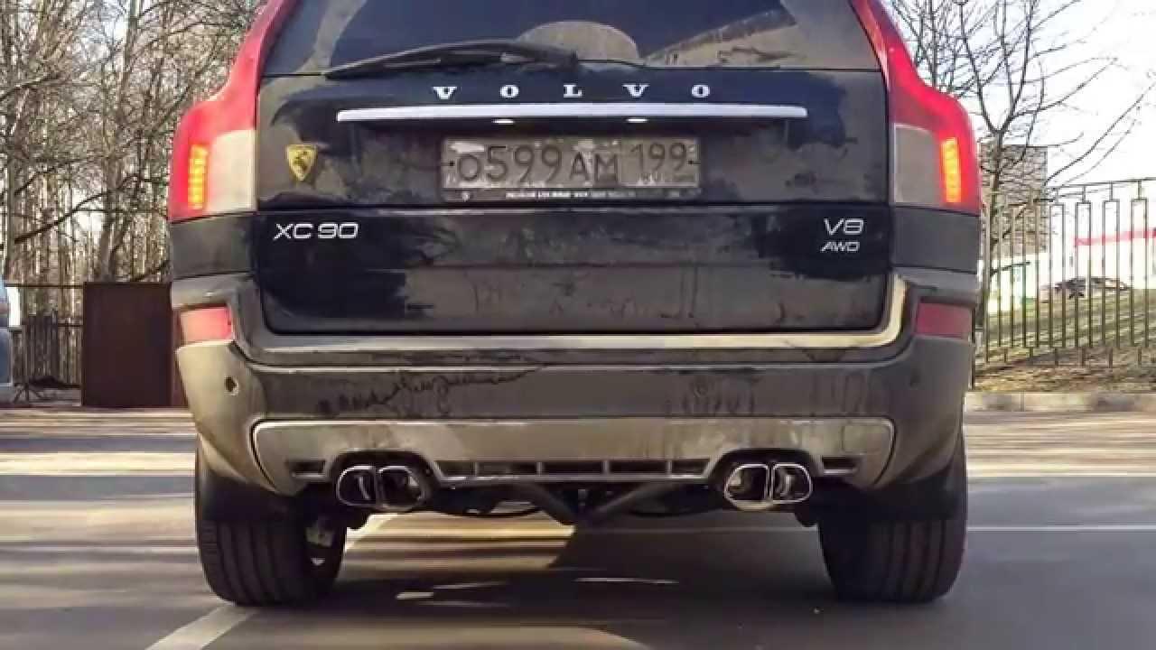 volvo xc90 v8 dual exhaust
