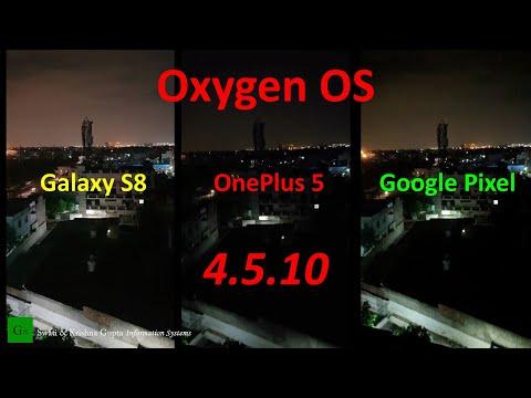 OnePlus 5 OxygenOS 4.5.10 Update (Camera Improvements, 1080 60fps Low Light test vs S8 & Pixel)