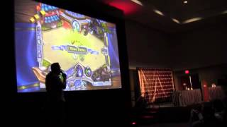 PAX East 2013 Blizzard Presents - Hearthstone Heroes of Warcraft