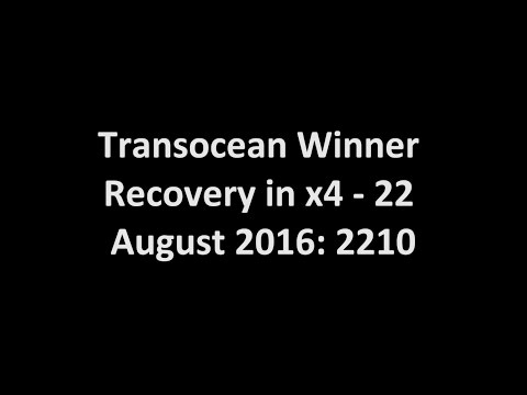 Transocean Winner Oil Rig Recovery | Stornoway, Scotland