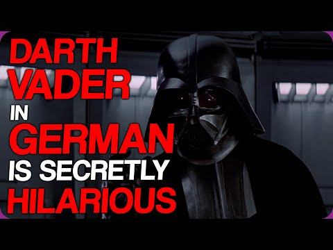 Wiki Weekends | Darth Vader In German Is Secretly Hilarious