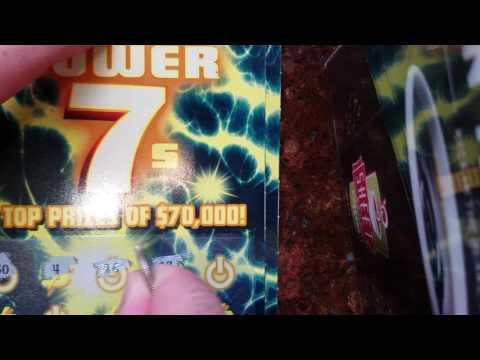 Feel the power 7sssss!!! PA lottery scratch off ticket. Winner???