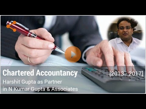 Career in Chartered Accountancy by CA Harshit Gupta