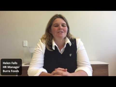 Helen Falls, HR Manager at Burra Foods Recommends Talent Codes HR On-Demand Service