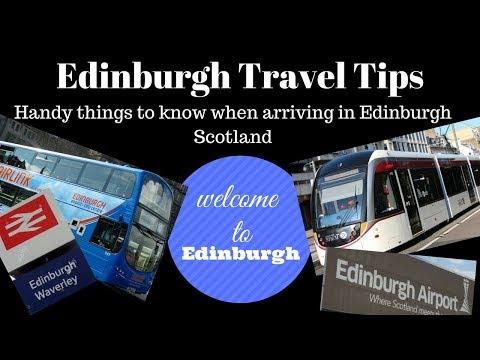 Edinburgh travel tips | handy things to know when arriving in Edinburgh - Scotland