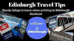Edinburgh travel tips | handy things to know when arriving in Edinburgh - Scotland