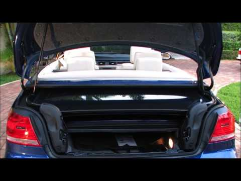 Bmw 3 Series Convertible Trunk Space