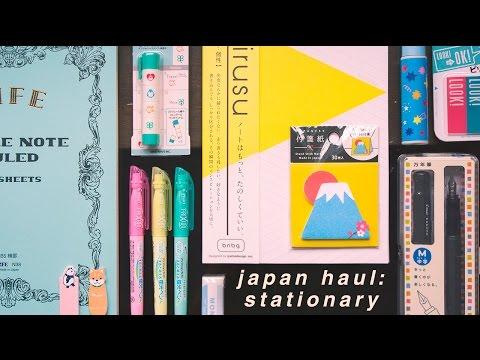 Japanese Stationary Haul 🌸 (w/ Demos !)