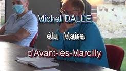 election maire d'Avant-lès-Marcilly le 25 mai 2020
