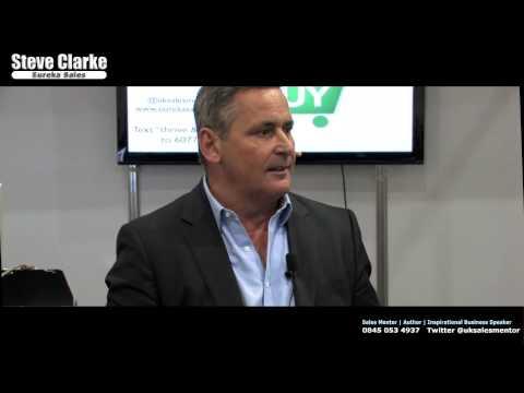 Steve Clarke   Eureka Sales   SMP 2013 Live presentation, London Excel.