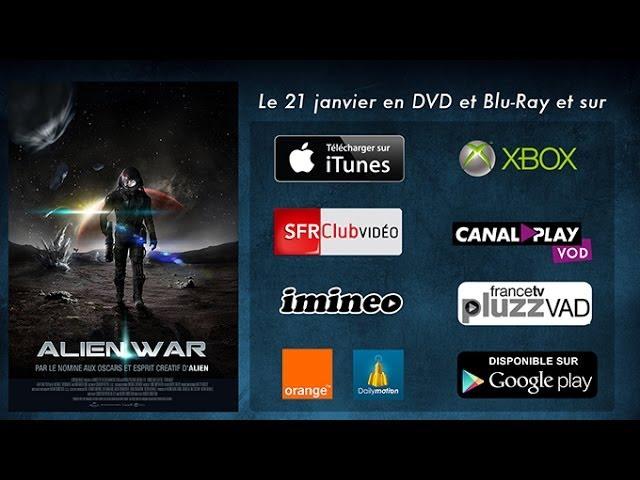 Alien War - Disponible le 21 janvier en VOD, DVD et BluRay