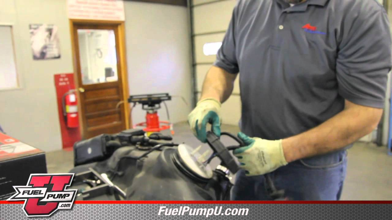 medium resolution of how to replace a fuel pump e7113m on a 1999 2000 chrysler sebring youtube