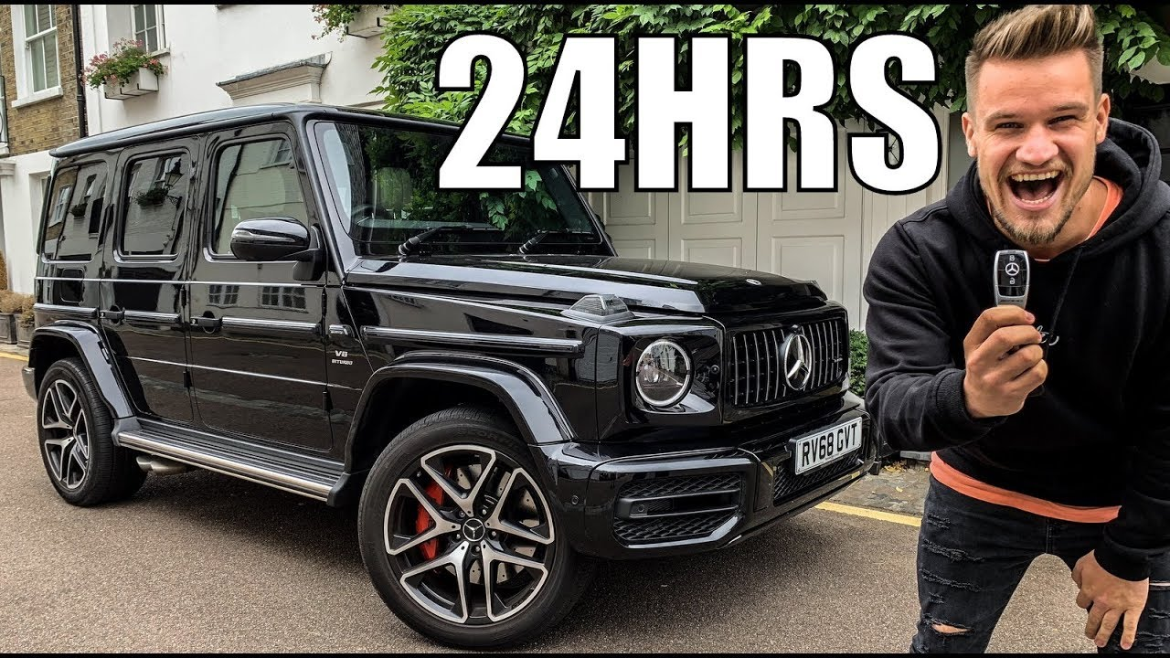 24 hours with 2019 mercedes benz g63 amg