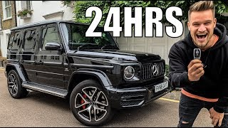 24 Hours with 2019 Mercedes Benz G63 AMG!