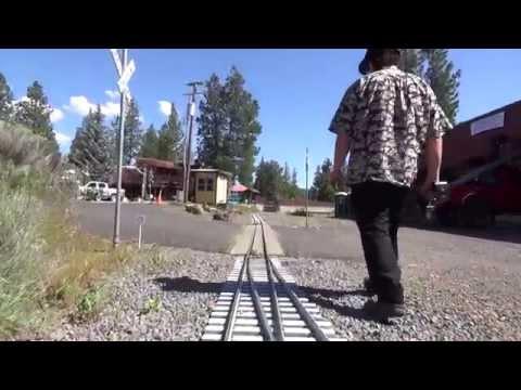 "Train Mountain, Crater Lake Oregon. Pre-Triennial 2015 Train Ride! 7.5"" Gauge 36 Miles of Track"