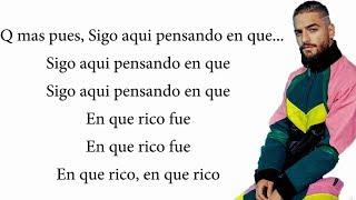 Que Mas Pues Letra - Sech Ft. Maluma, Nicky Jam, Farruko J Quiles, Dalex, Lenny Tavares (Remix)