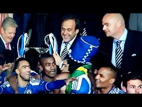 Chelsea-Bayern Munich: Chelsea and Abramovich lift the cup