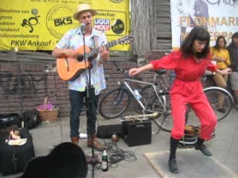 The Zap Show -street jam in Berlin