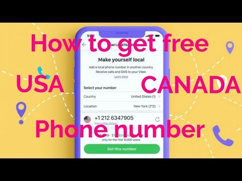 June2019| How To Get Free US, Canada, Virtual Phone Number| Whatsapp Virtual Number