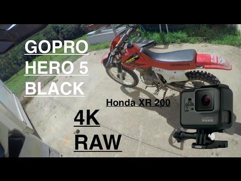 Gopro Hero 5 Black 4K Motorbike Test Footage