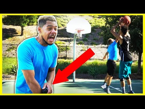 ELECTRIC SHOCK COLLAR 2v2 IRL BASKETBALL CHALLENGE!!