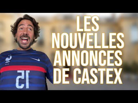 LES NOUVELLES ANNONCES DE CASTEX - MAXIME GASTEUIL