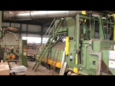 Gietart GW2000 610 Shot Blasting Machine