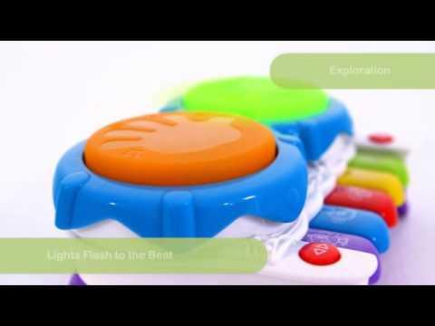 Playgro Jerry\'s Class Музикална играчка 2в1 Пиано и Барабани #jc6_BvL02yI